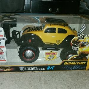 Bumblebee transformer remote control large toy